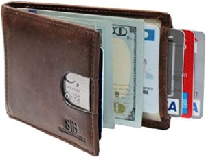 serman minimalist travel wallet
