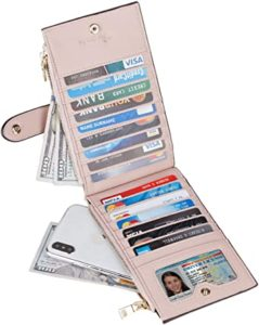 travelambo womens travel wallet