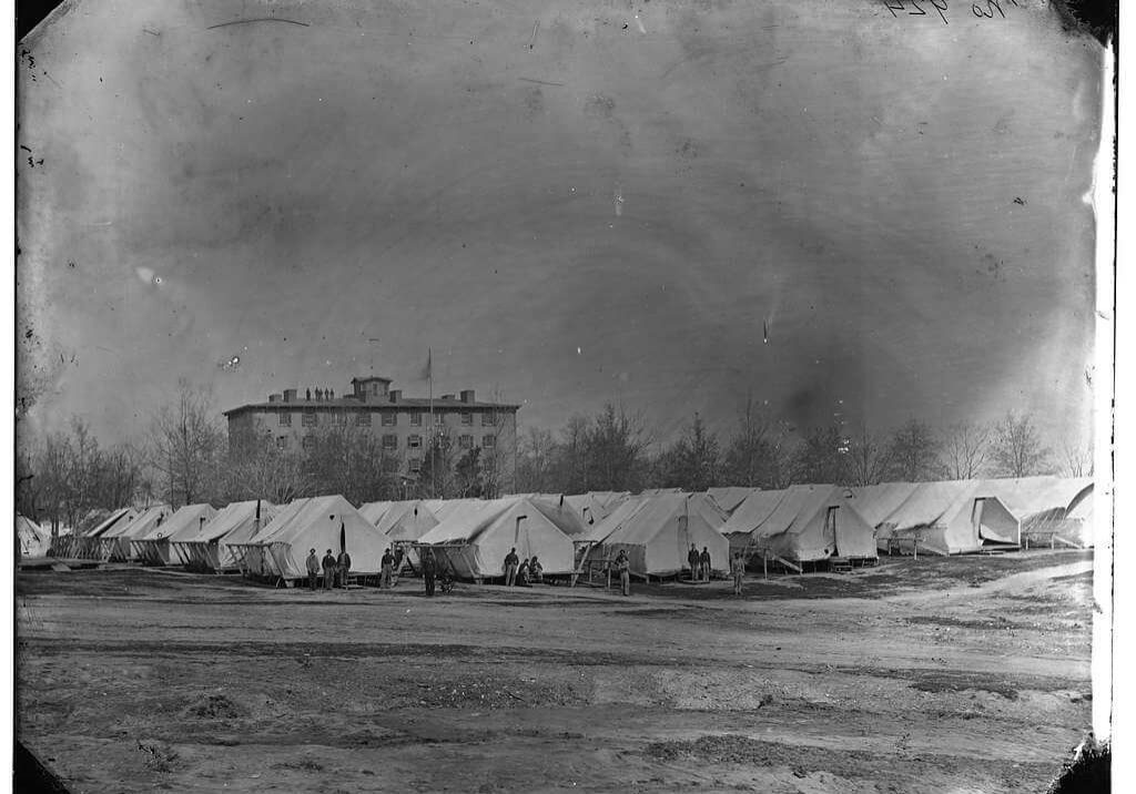 field hospitals american civil war
